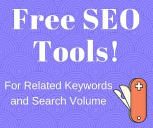 Free SEO keyword research tools