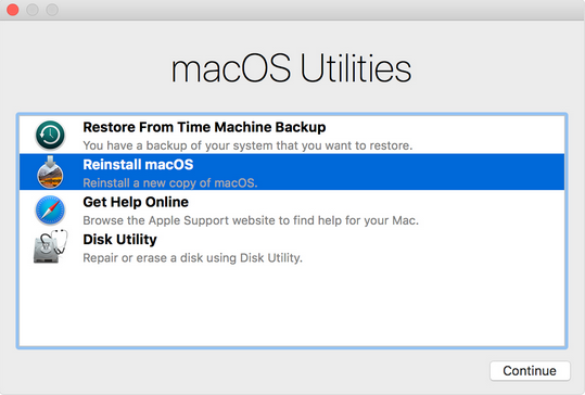 Macbook Pro Wont Turn On macos utilities